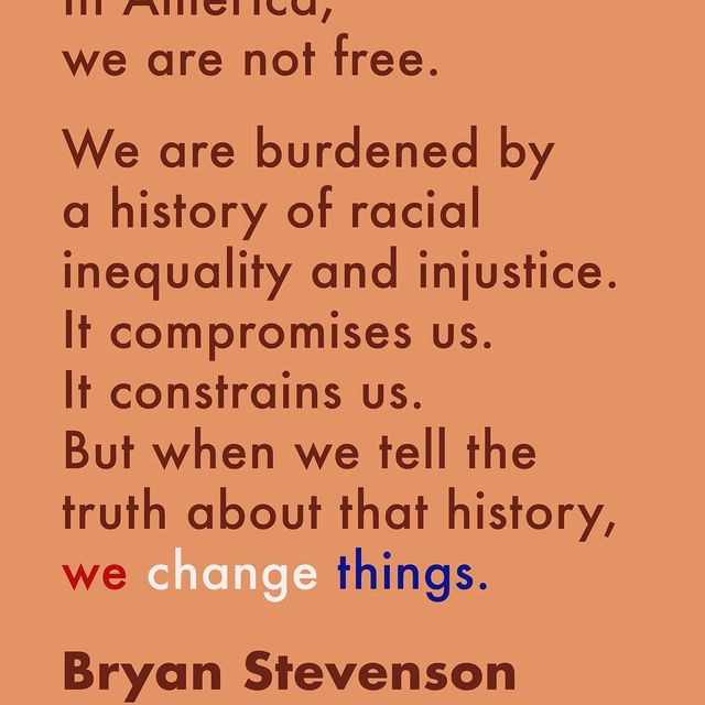 image: A legacy of racial injustice follows us in America. What will it take to stop it? Watch Bryan Stevenson's full call to action at go.ted.com/BryanStevenson. by ted