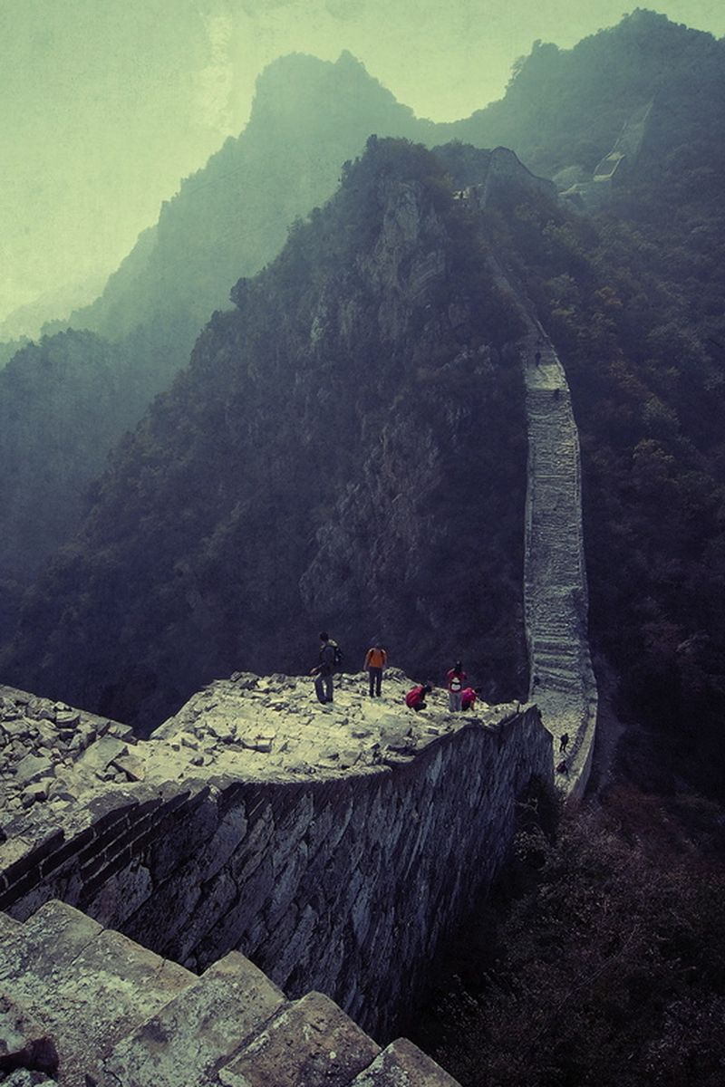 image: Hiking the Wall  by somewhereiwouldliketolive