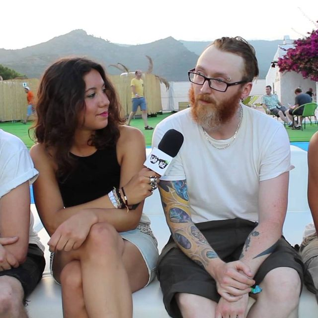 video:   And So I Watch You From Afar   ASIWYFA   Interview   by legaragetv