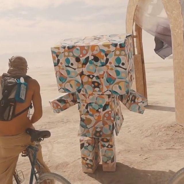 video: Burning Man by boton