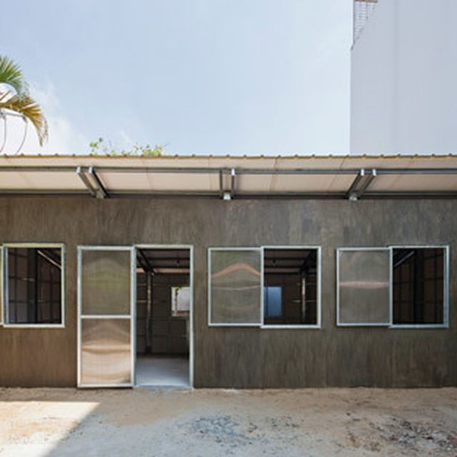 """image: Vo Trong Nghia's latest low-cost house is """"stable en... by hallowedbronze"""