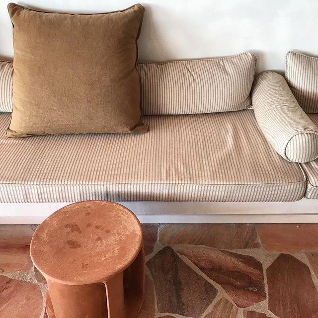 image: / slow life / #terracotta #decoration #hotel #lesrochesrouges #mespetitespaillettes #photographer by mespetitespaillettes
