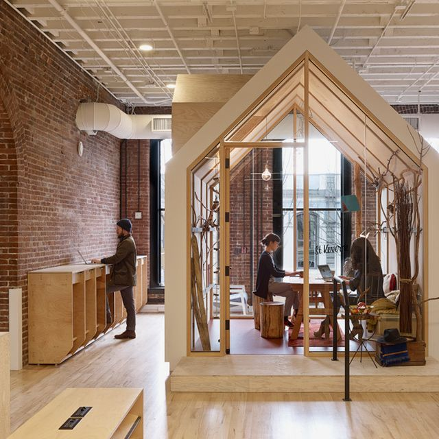 image: airbnb's portland office offers a diverse range of w... by greedybyzantium