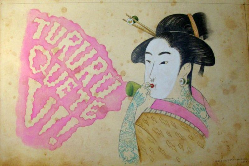 image: GEISHA I · Illustration · by MAPYDH by mapydh