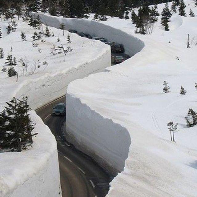 image: Snow road by 2diamonds